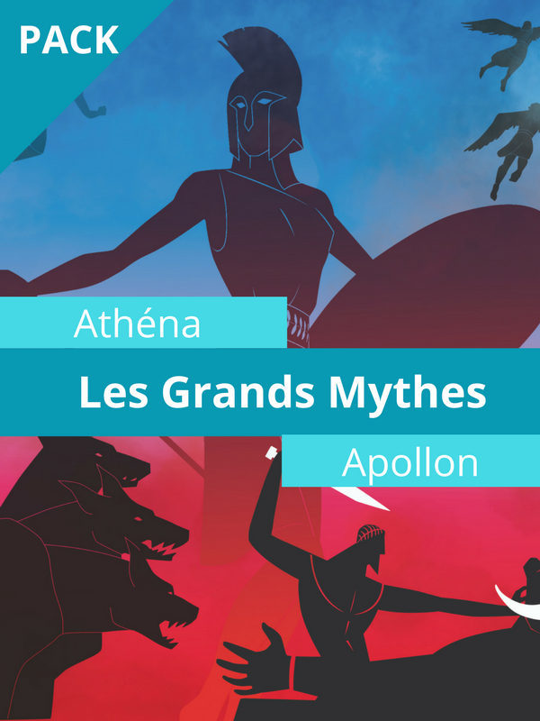 Les Grands mythes - Athéna + Apollon |