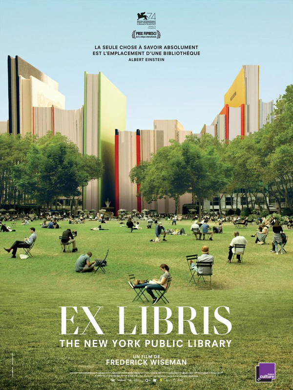 "Afficher ""Ex Libris : The New York Public Library"""