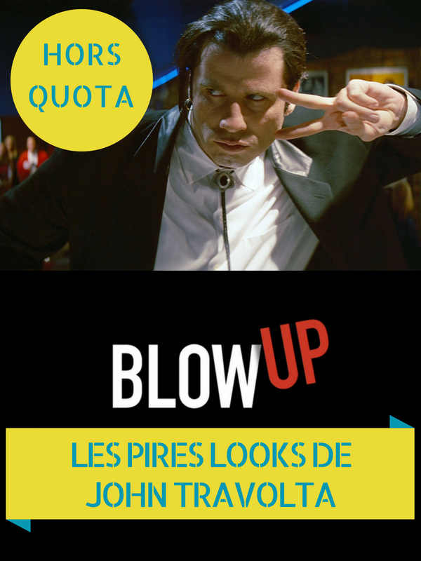 Blow Up - Les pires looks de John Travolta