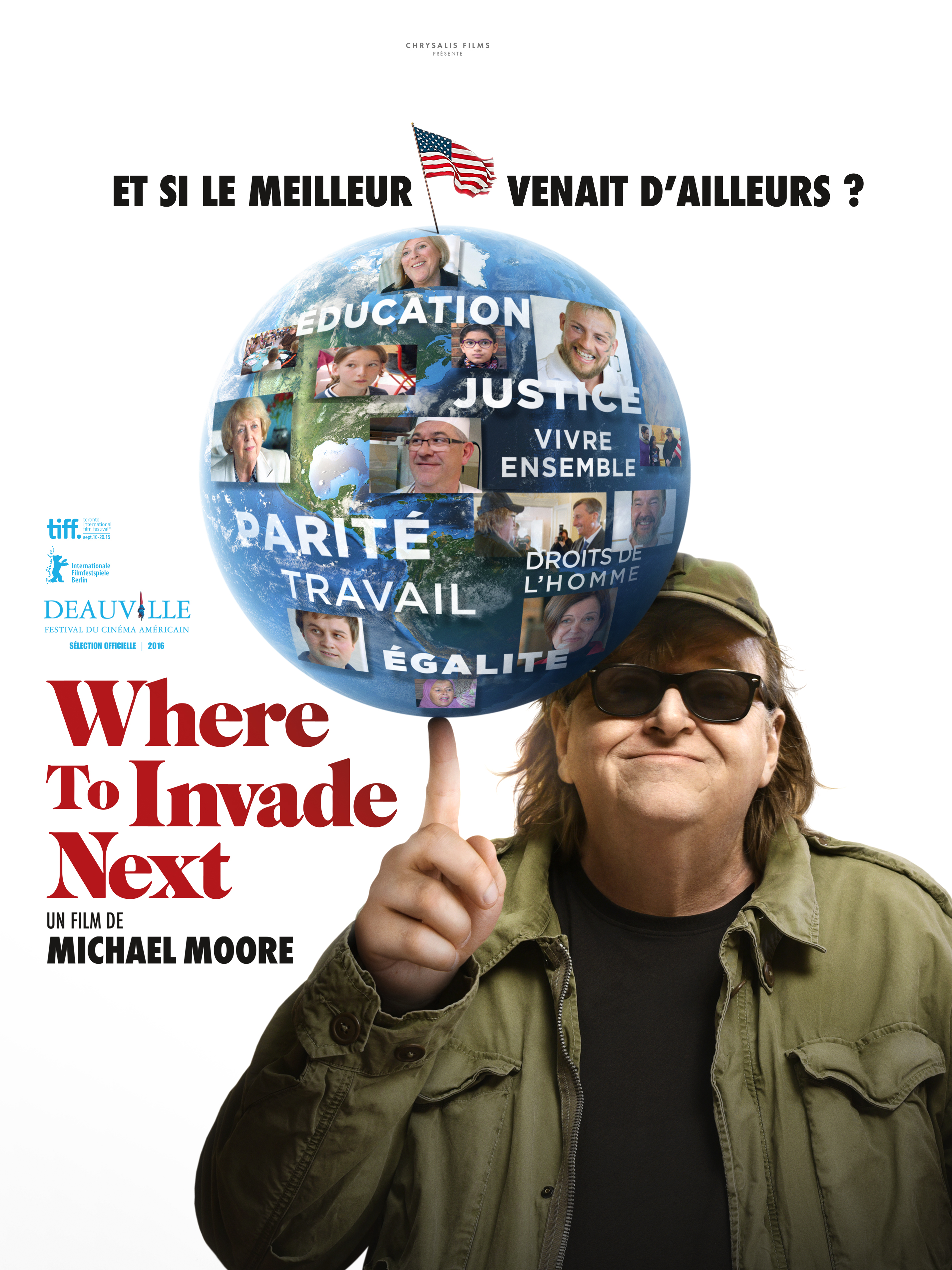 Where to invade next ? | Moore, Michael (Réalisateur)