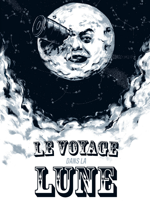 Movie poster of Le Voyage dans la lune