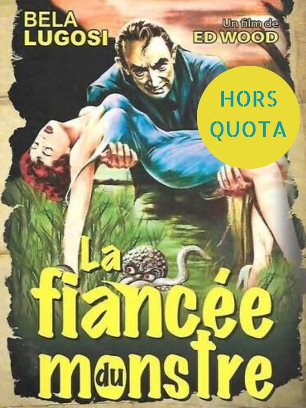 """La fiancée du monstre"" de Ed Wood (1955)"