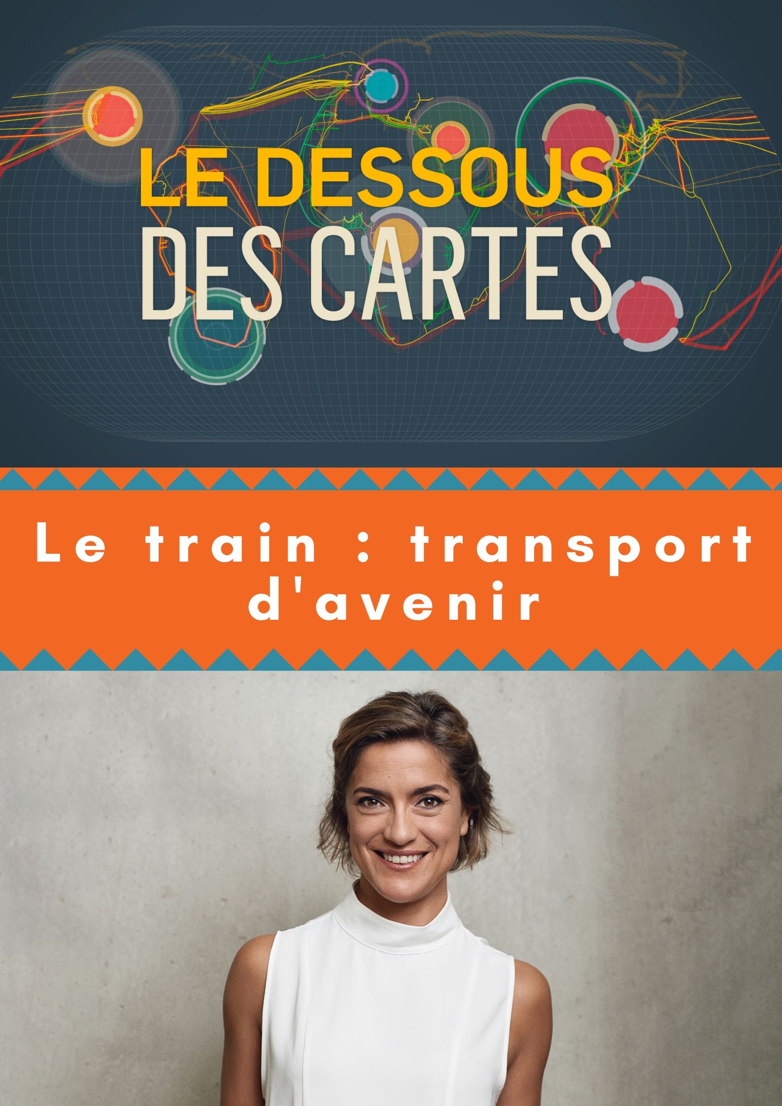 Le Dessous des cartes - Le train : transport d'avenir