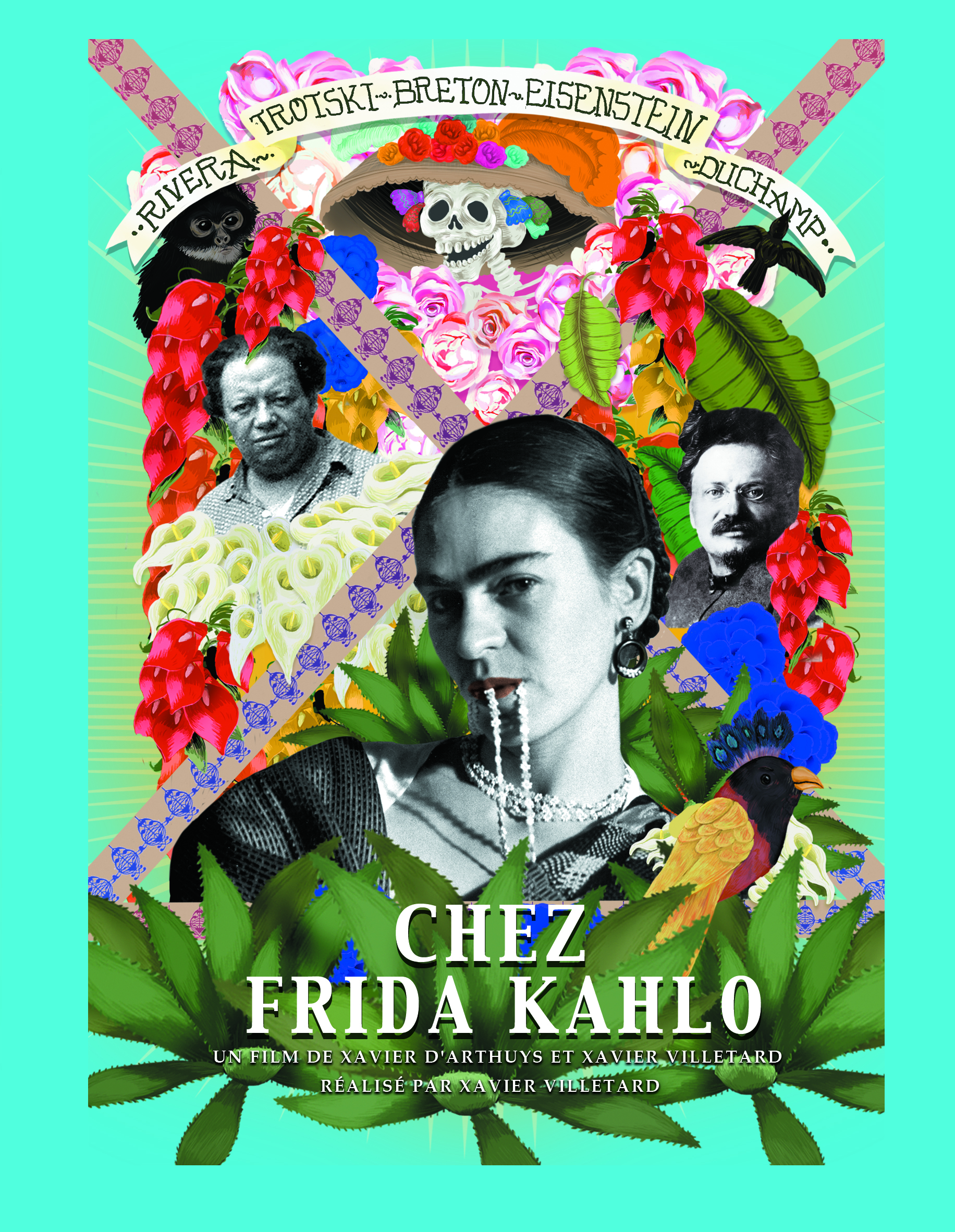 Chez Frida Kahlo | Villetard, Xavier (Réalisateur)