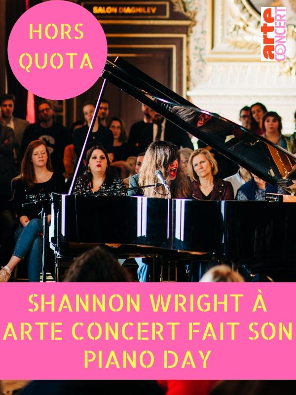 Shannon Wright à ARTE Concert fait son Piano Day (2020)