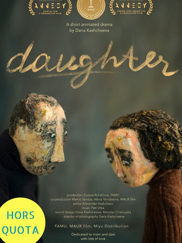 """Daughter"" de Daria Kashcheeva (2019)"
